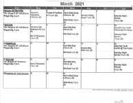 February 28 Calendar